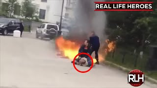 ᴴᴰ REAL LIFE HEROES   2015   Faith In Humanity Restored   Part 32
