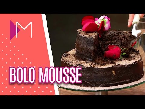 Bolo mousse - Mulheres (05/06/18)