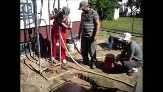 WATER WELL DRILLING WITH SMALL RIG ,STEP BY STEP  BUŠENJE BUNARA