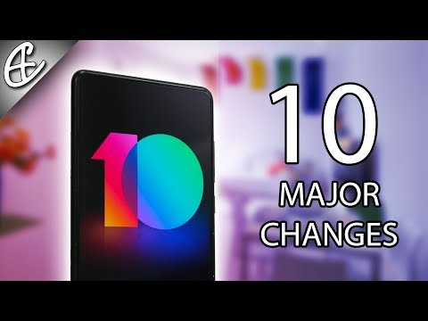 Top 10 MIUI 10 Features - Major Changes!
