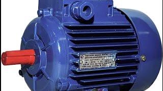 видео Асинхронный двигатель: принцип работы, схема подключения к трёхфазной сети 380 вольт