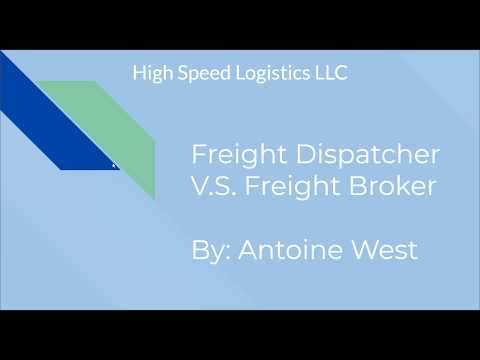 Freight Dispatcher V.S. Freight Broker