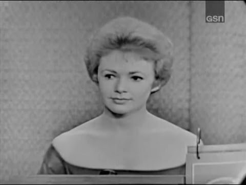 What's My Line?  Piper Laurie; Art Linkletter panel Oct 15, 1961