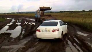 Как я штурмовал грязь на Тойота Камри часть 2.mp4