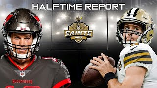 New orleans saints vs. tampa bay buccaneers' halftime report from bob rose and kyle t. mosley of news network.streaming live: facebook, , t...