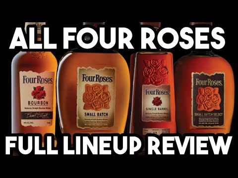 """""""FULL"""" Four Roses LINEUP Review By MY BOURBON JOURNEY"""
