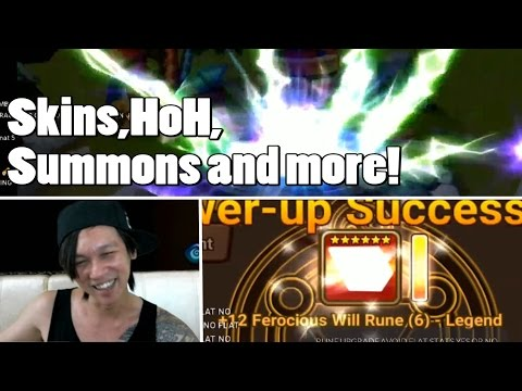 YDCB Summoners War - 2 Types of Extreme Luck