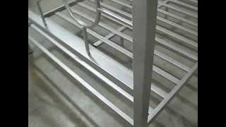 Home Source 13161 Queen Metal Bed Frame At Www.hotliquidationspot.com