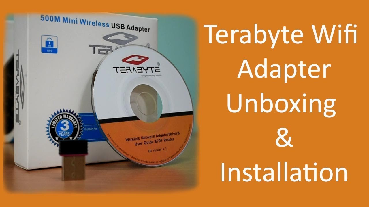 Terabyte Wifi Adapter Unboxing & Installation