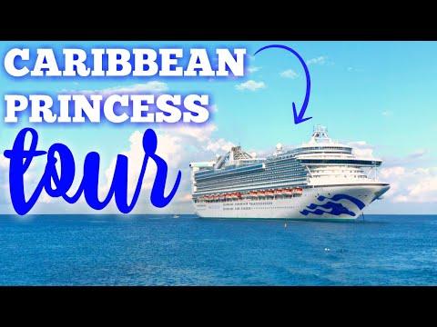 LIVE TOUR OF CARIBBEAN PRINCESS