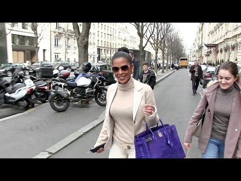 EXCLUSIVE - Beautiful Ayem in Paris