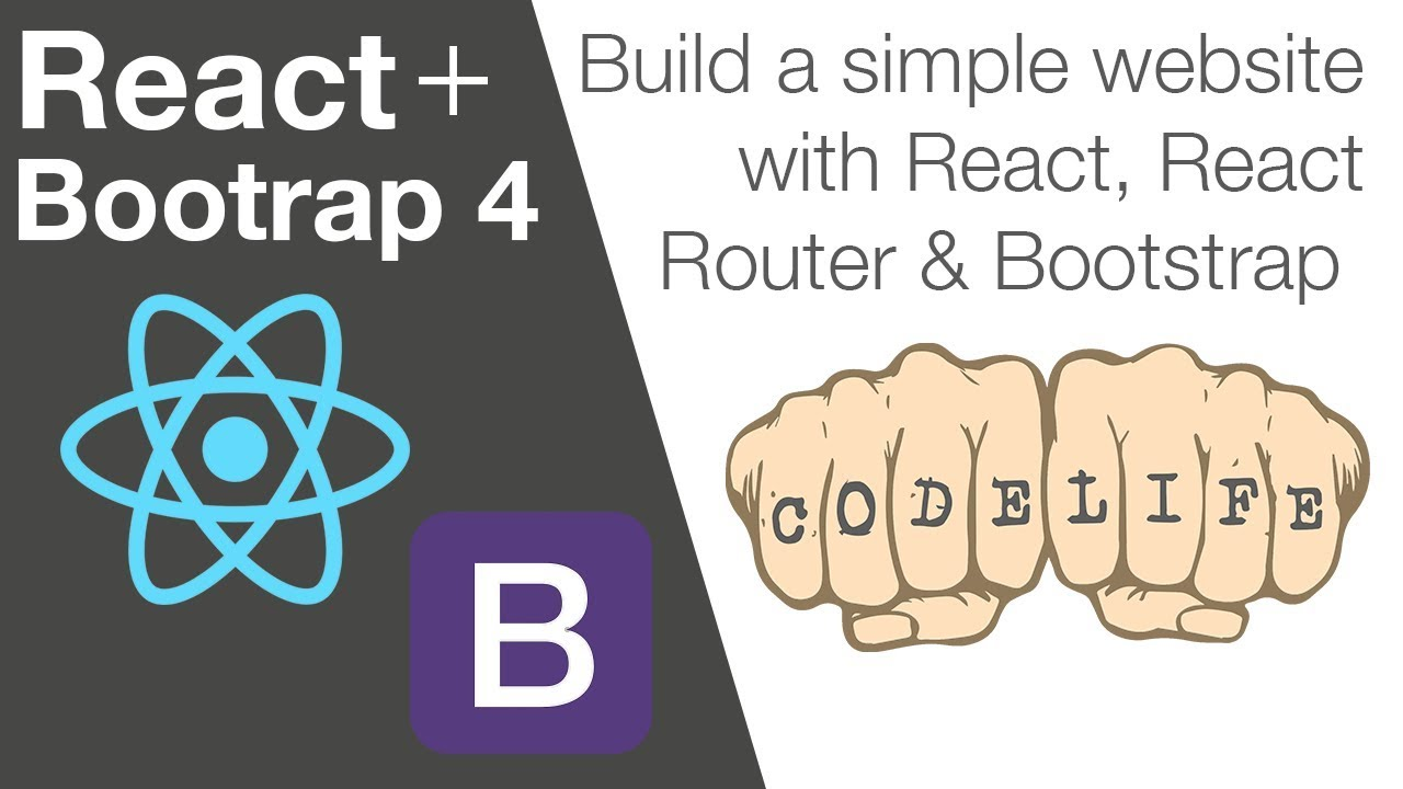How to Build a Website with React, React Router and Bootstrap 4 - Part 2