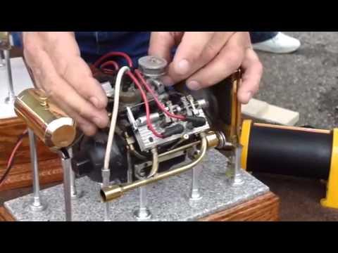 Small V4 Engine