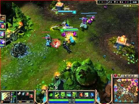 league of legends victory gameplay