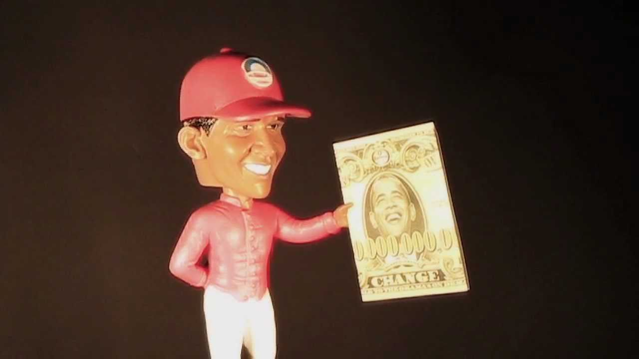 Obama Lawn Jockey Bobble Head Youtube