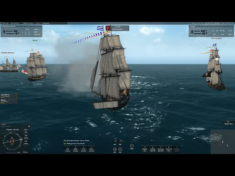 Naval Action - Fleet Battles - A whole lot of frigates