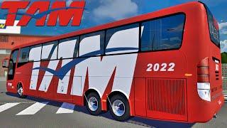 Ônibus TAM Viagens - Euro Truck Simulator 2