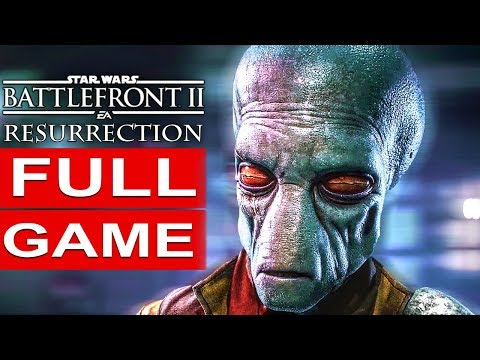 STAR WARS BATTLEFRONT 2 Resurrection Gameplay Walkthrough Part 1 Story Campaign FULL GAME [1080p HD]