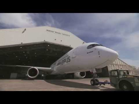 Airbus A350 XWB climatic testing at the McKinley Climatic Laboratory