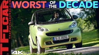 What Were They Thinking!? These Are The Very WORST Cars We Drove In The Past 10 Years (Part 2 of 2)