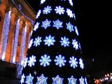 Tbilisi, Georgia. Happy New Year