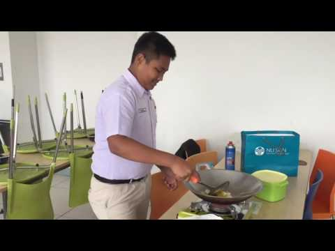 Cooking Class Gr. 8-1 Bosowa School Makassar : Food and Nutrition