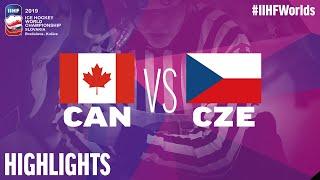 Canada vs. Czech Republic - Semi Final - Game Highlights - #IIHFWorlds 2019