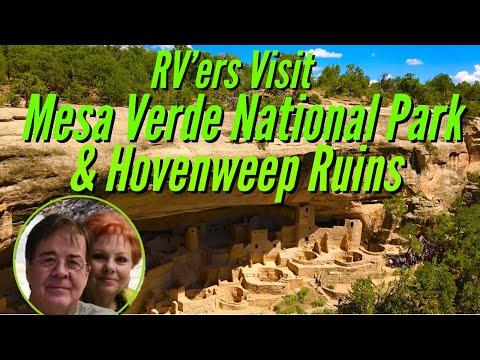 RV'ers Visit Mesa Verde National Park & Hovenweep Ruins