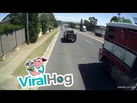 Thumbnail: Truck Slides Through Traffic