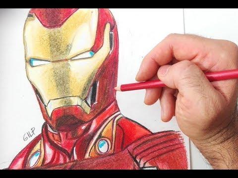 Disegni Da Colorare Con Iron Man.Come Disegnare Iron Man Youtube