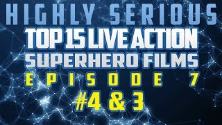 Top 15 Live Action SuperHero Films Episode 7 (#4 Batman Begins & #3 Marvel's The Avengers)