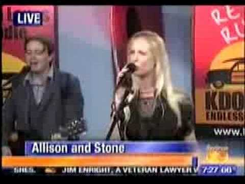 Allison Balson  Allison & Stone Live Performance