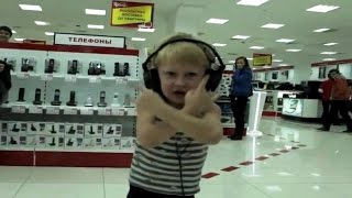 A Russian kid goes berserk