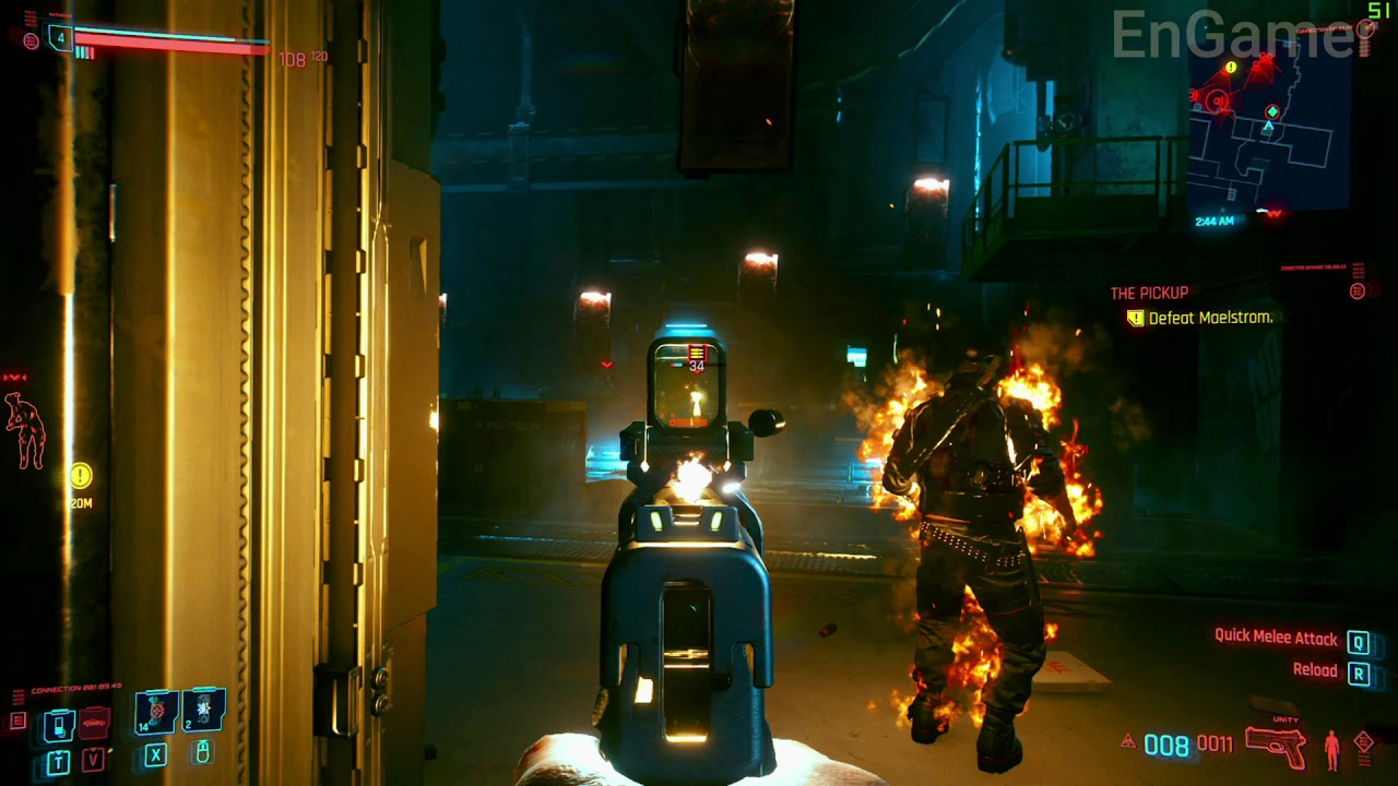 Cyberpunk 2077 Defeat Moelstrom