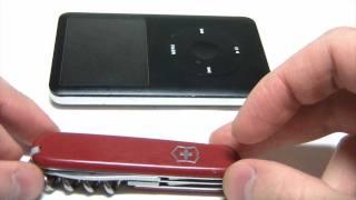 видео Ремонт iPod Classic (АйПод Классик) в Санкт-Петербурге