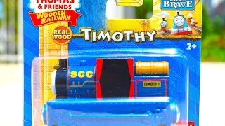 Thomas & Friends Timothy Wooden Railway Toy Train Tale Of The Brave Review By Mattel Fisher Price