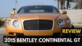 How to Be 50 Shades of Grey: 2015 Bentley Continental GT Speed Convertible