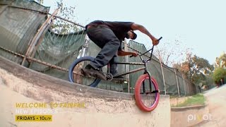 Gabe Brooks BMX Clips from his TV Show