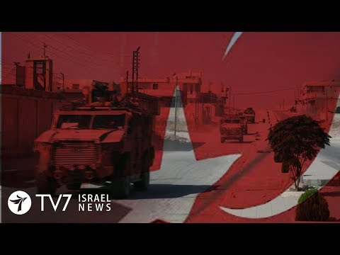 Syrian military confronts Turkey in Israel's northern neighbor - TV7 Israel News 25.10.19