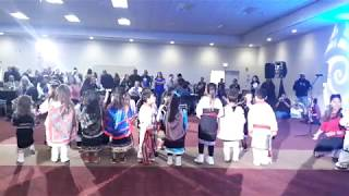 NCAI 2019 NATIONAL CONGRESS OF AMERICAN INDIANS -   Tiny Tots Isleta Day School Opening Dance