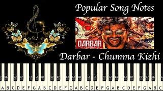 DARBAR - CHUMMA KIZHI (HOW TO PLAY) MUSIC NOTES