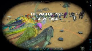 Ark Official PvP | PS4 | The Great War Of 192 | DEFENCE | #ASYLUM #PR #HGD