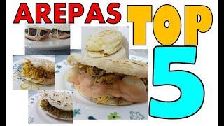 TOP mejores tipos de arepas colombianas COMO SE PREPARAN