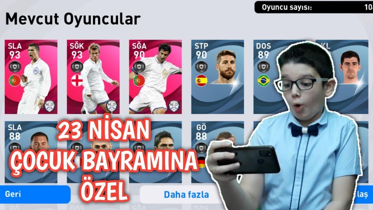 OĞLUMLA EFSANE TOP AÇILIMI - eFootball PES 2020 MOBİLE