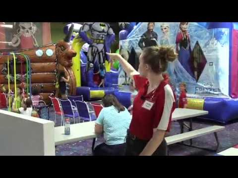 Tampa Jump Zone Party Birthday Parties Indoor Bounce Houses Giant Slides Fun In Pinellas