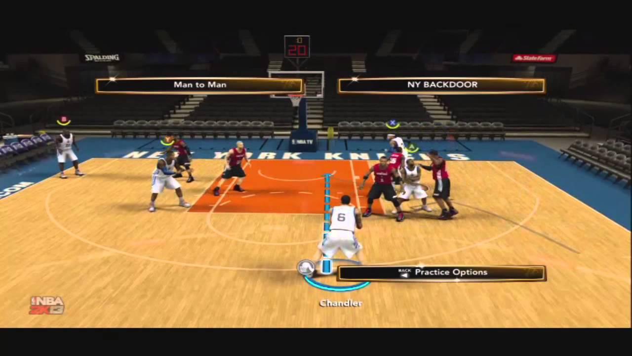 NBA 2K13 Tips- Ny Backdoor- Carmelo Anthony
