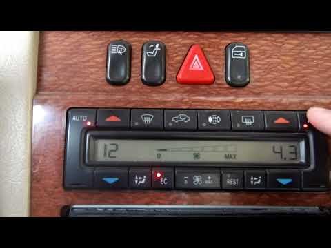 Чтение и расшифровка ошибок климат-контроля Mercedes W210.