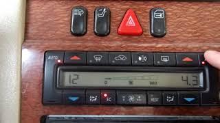 чтение и расшифровка ошибок климат-контроля Mercedes W210