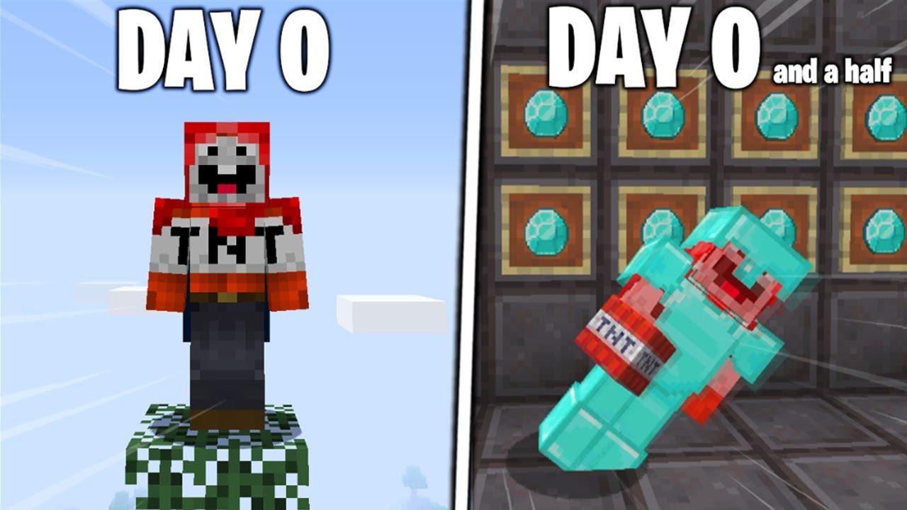 Download I Survived 0 Days in Hardcore Minecraft...