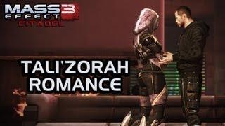 Mass Effect 3 Citadel DLC: Tali Romance (All scenes)